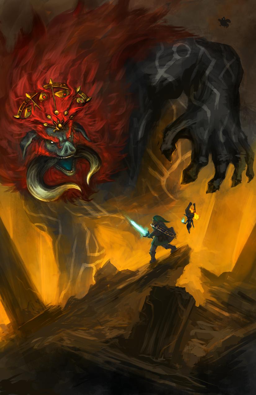 Human For Scale Dark Beast Ganon
